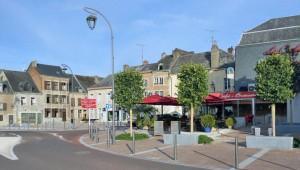Vue vers la Place de la Tour Victoire
