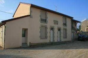 La Place du village avant intervention