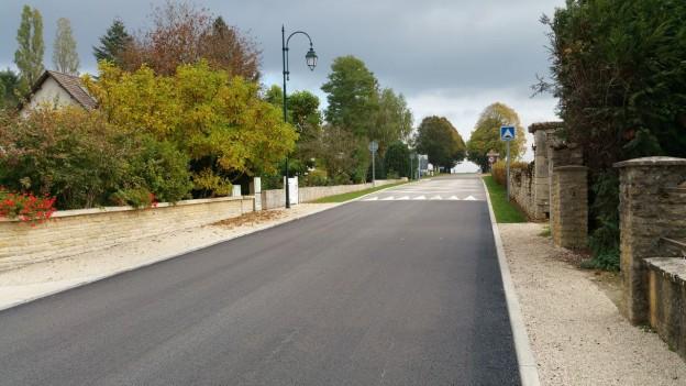 plateau traversant entrée de Blessonville
