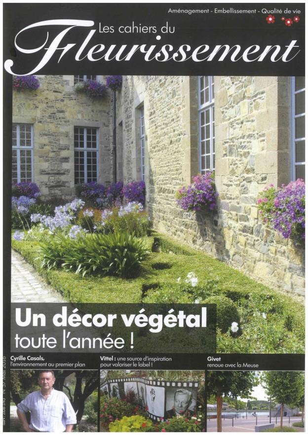 Givet paysages d'ici et d'ailleurs dans Les cahiers du fleurissement  aménagement des quais de Meuse Ardennes